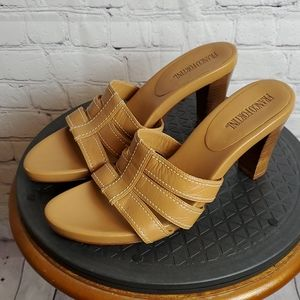 Franco Fortini Laurie Leather Sandals Size 8.5